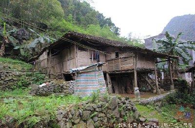 有人说没有三江的好看,但是也是来宾壮族民居的特点.