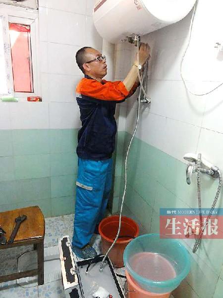 家里的电热水器如何清洁